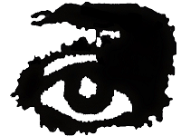 Lavender Menace Eye Logo
