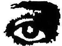 Lavender Menace Eye Logo
