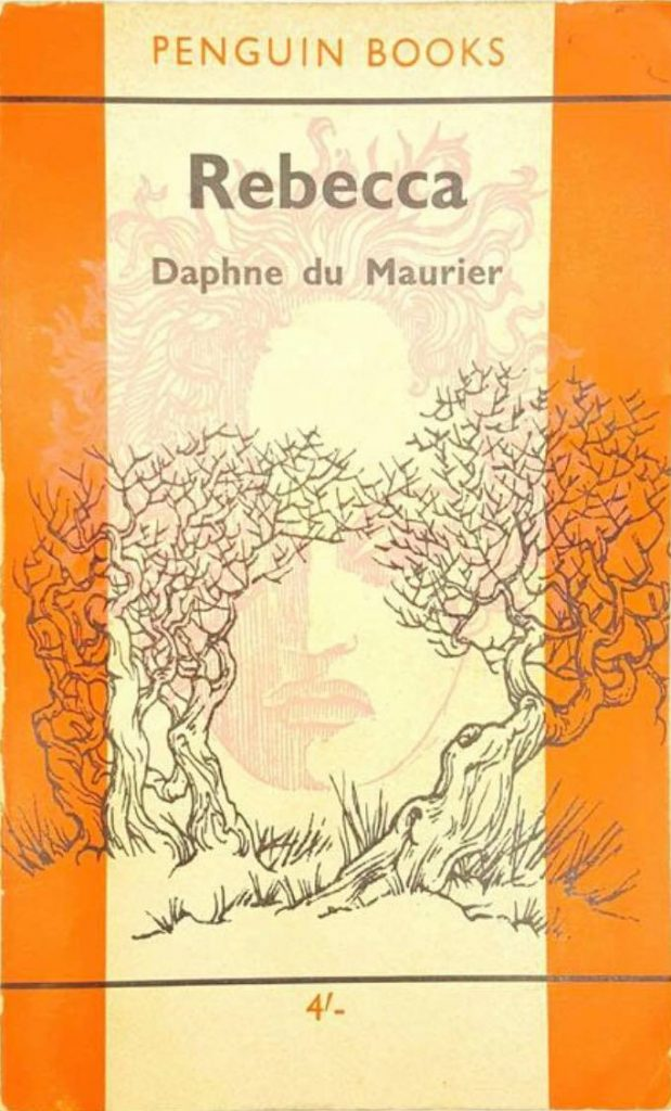 Book cover: Rebecca by Daphne du Maurier (Penguin paperback edition) 1962