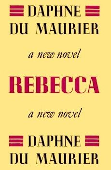 Book cover: Rebecca First Edition 1938 Gollancz