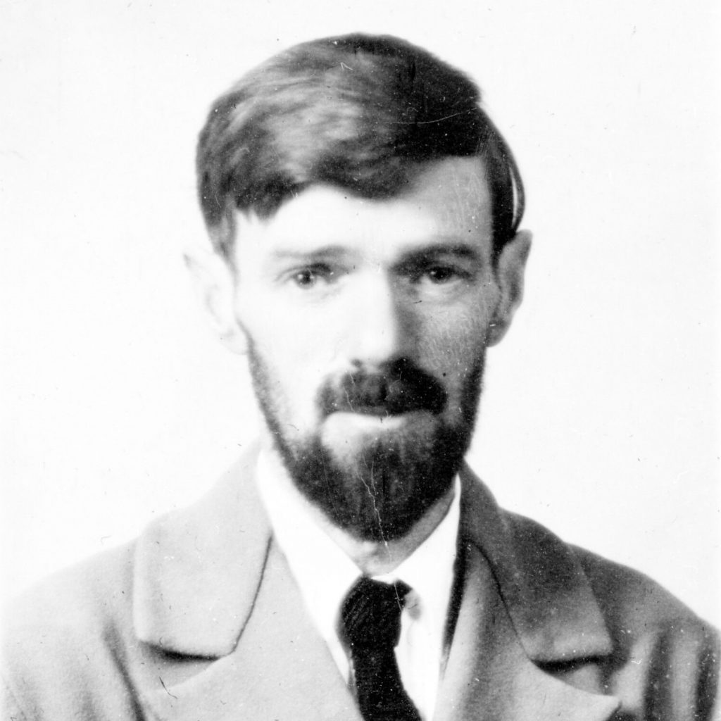 Photo: DH Lawrence 1929