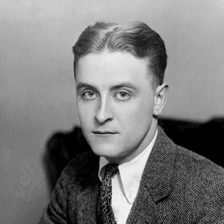 Photo: F Scott Fitzgerald 1921