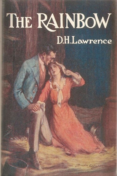 Book cover: The Rainbow, DH Lawrence, Methuen, 1st Edition 1915