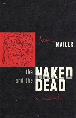 Book cover: The Naked and the Dead by Norman Mailer, Rhinehart & Co, 1st Edition, 1948