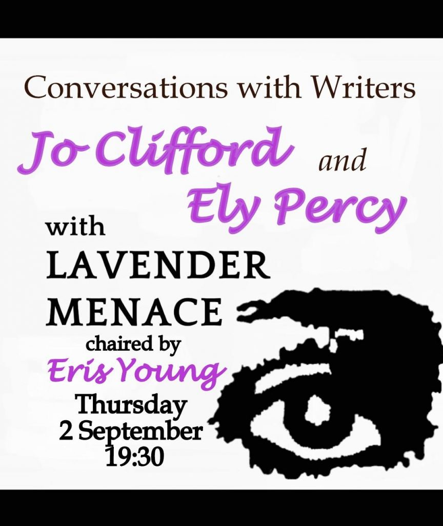 Advert: Conversations with Writers - 2 Sept 2021